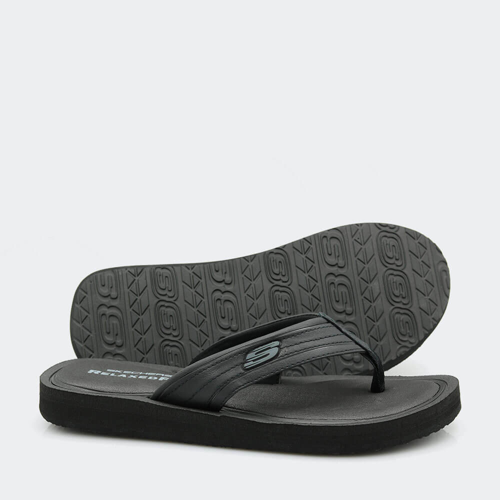 Skechers Wedge Flip Flops