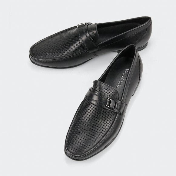 حذاء victor clarke men shoes الأسود