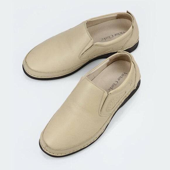 أفخر حذاء طبي كلاسيكي لون بيج