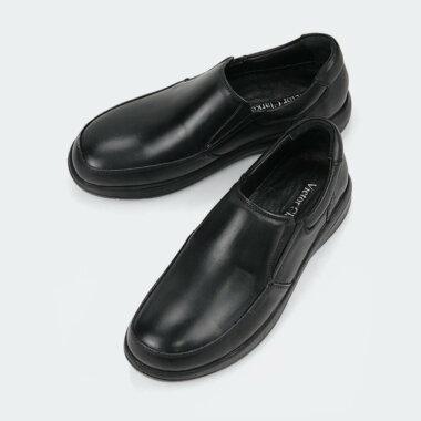 حذاء كلاسيكي طبي باللون الأسود الفاخر