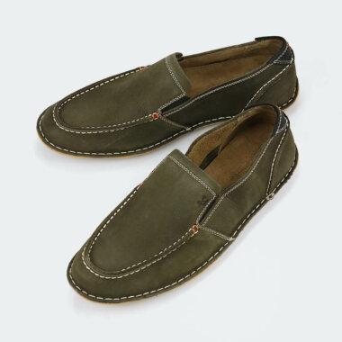 حذاء كلاسيكي طبي من جلد طبيعي فاخر