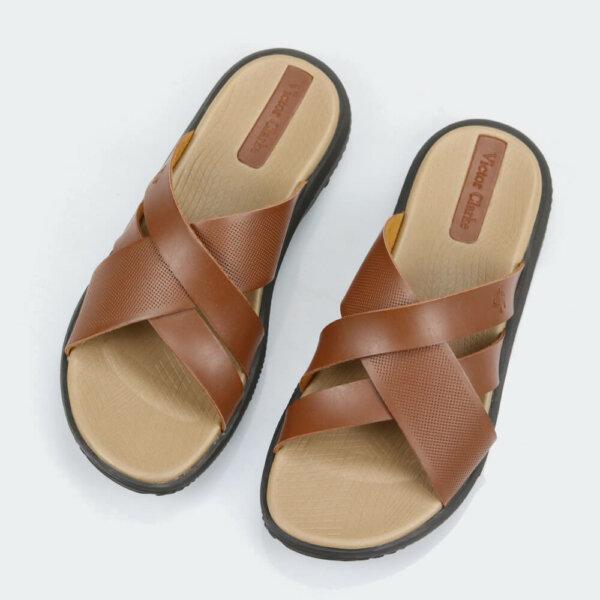 حذاء طبي فيكتور كلارك بلون بني