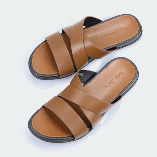 حذاء جلد طبيعى انيق من براند فيكتور كلارك الاصلى لراحة القدم
