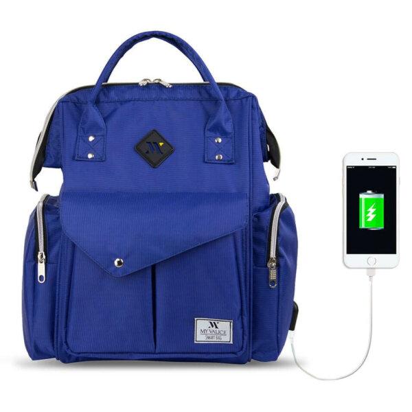 أفضل حقائب ظهر لعام 2020 بألوان جذابة مختلفةعلى متجر العراب Smart bag happy mom