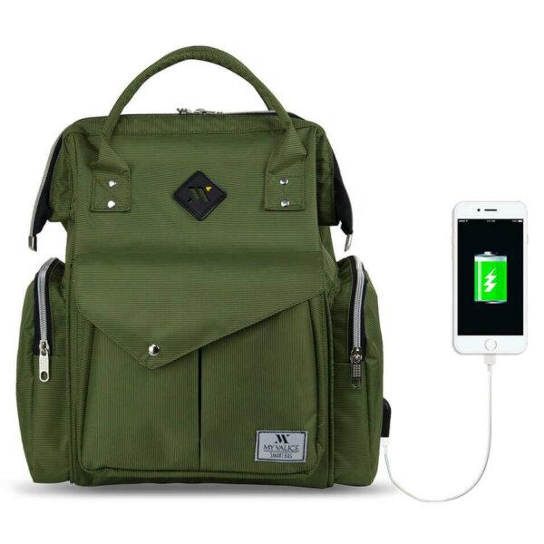 حقيبة الظهر الذكية