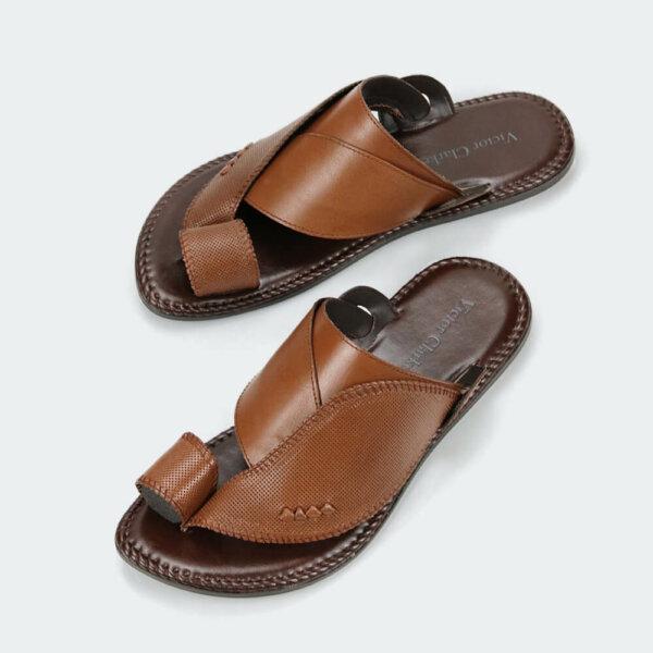حذاء فيكتور كلارك الأصلية البني