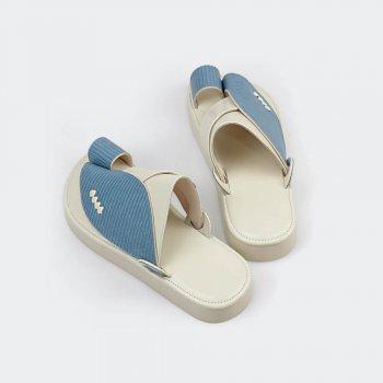 الحذاء الفاخر الجلدي
