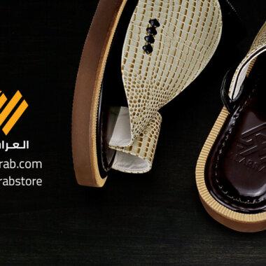أحذية شرقية جلد طبيعي